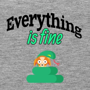 Everything is fine - Women's Premium Tank Top