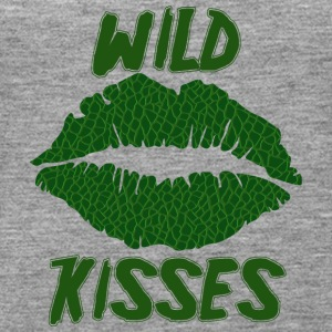 Lipstick / mouth / kiss mouth: Alligator Wild Kiss - Women's Premium Tank Top