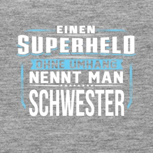 SCHWESTER Superheld - Frauen Premium Tank Top