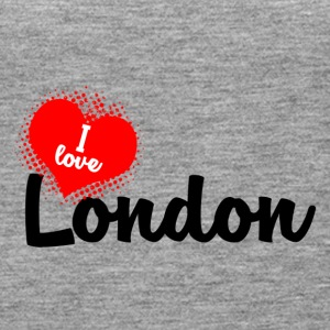 I Love London - Women's Premium Tank Top