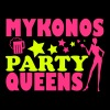 MYKONOS PARTY QUEENS - Canotta premium da donna