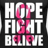 Hope fight believe - Vrouwen Premium tank top