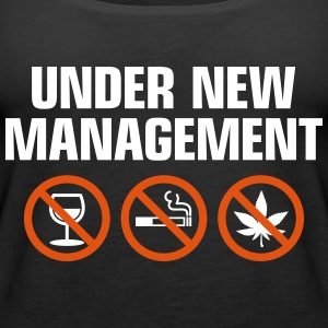 Under New Management - Women's Premium Tank Top