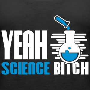 Ja Bitch Science kjemi - Premium singlet for kvinner
