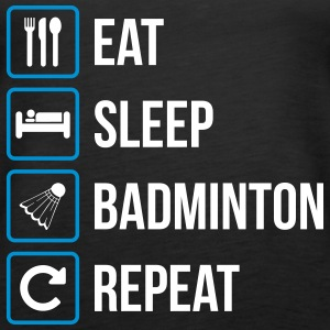 Eat Sleep Badminton Repeat - Women's Premium Tank Top