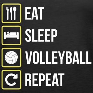 Eat Sleep Volleyball Repeat - Frauen Premium Tank Top