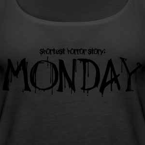 Monday horror story - Frauen Premium Tank Top