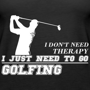 Just need to go golfing - Women's Premium Tank Top