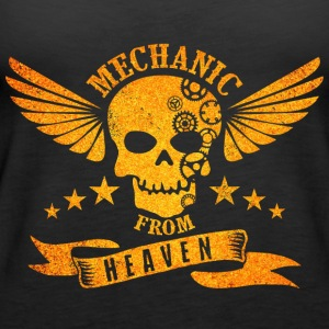 Mechanic From Heaven - Vrouwen Premium tank top