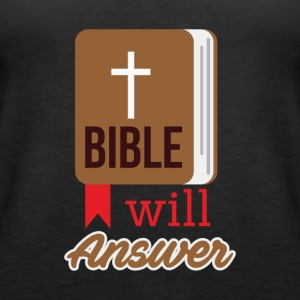 Bible will Answer - Women's Premium Tank Top