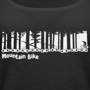 Mountain bike - bicycle - Women's Premium Tank Top