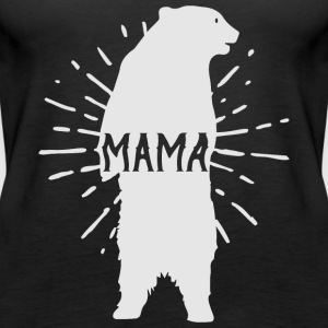 Mama Bear Mothers Day - Mother 's Day - Women's Premium Tank Top
