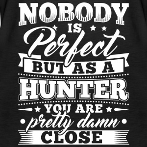 Funny Hunter Jakt skjorte Nobody Perfect - Premium singlet for kvinner