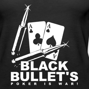 Poker - Black Bullets - Tank top damski Premium