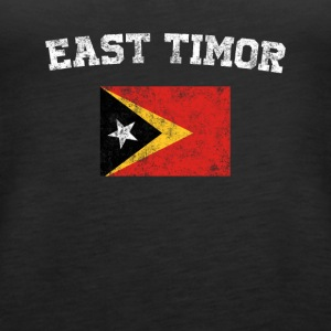 East Timorese Flag Shirt - Vintage East Timor T-Sh - Women's Premium Tank Top