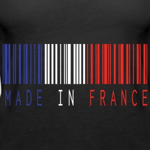 MADE IN FRANCE BARCODE - Frauen Premium Tank Top