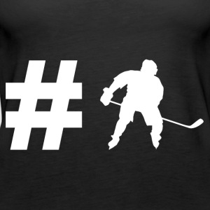 Hashtag Hockey - Ice Hockey - Gift - Sport - Women's Premium Tank Top