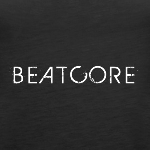 Beatcore shirt black - Women's Premium Tank Top
