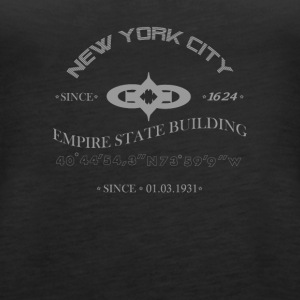 "New York City ""Empire State Building"" - Women's Premium Tank Top"