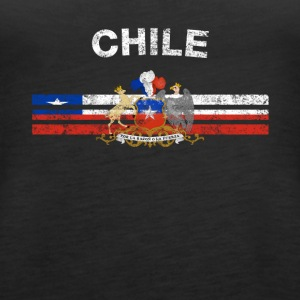 Chilenske Flag Shirt - chilenske Emblem og Chile Flag S - Premium singlet for kvinner