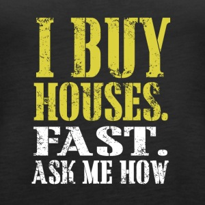 I buy houses copy - Women's Premium Tank Top