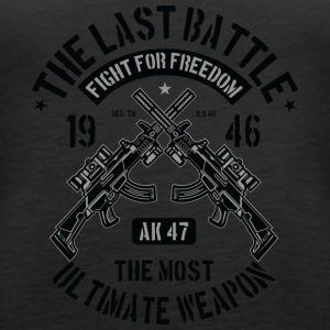 The Last Battle - Women's Premium Tank Top