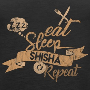 Eat Sleep SHISHA GJENTA - Premium singlet for kvinner