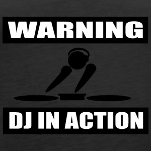 DJ ACTION - Premium singlet for kvinner
