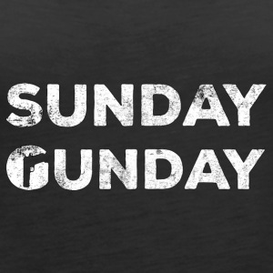 Military / Soldiers: Sunday Gunday - Women's Premium Tank Top