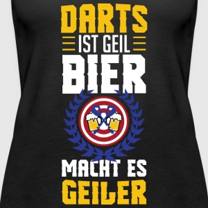 Bier Darts - Frauen Premium Tank Top