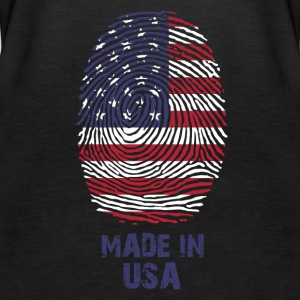 USA flag - America - Made in the USA - gift - Women's Premium Tank Top