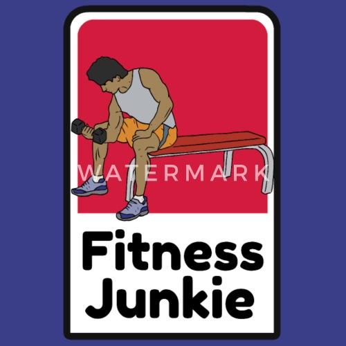 Je suis une chemise de drogué de fitness Débardeur premium Femme    Spreadshirt 2a047066df85