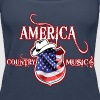 america country music - Women's Premium Tank Top