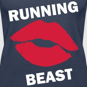 Running Beast - Women's Premium Tank Top