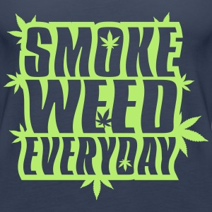 SMOKE_WEED_EVERYDAY - Premium singlet for kvinner