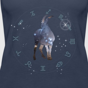capricorn universe constellation astrology sternzeic - Women's Premium Tank Top