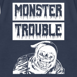 Monster TROUBLE - Women's Premium Tank Top