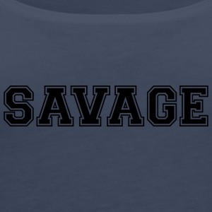 SAVAGE - Frauen Premium Tank Top