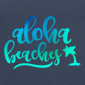 ALOHA BEACHES - Vrouwen Premium tank top