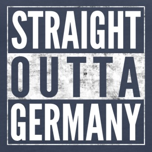 STRAIGHT OUTTA GERMANY Germany funny shirt - Women's Premium Tank Top
