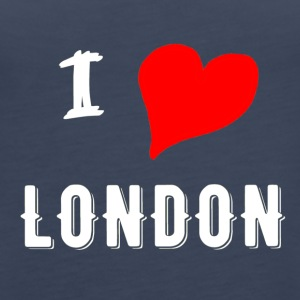 I Love london - Dame Premium tanktop