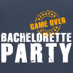 Bachelorette Party GameOver JGA Team Bride Ragazze - Canotta premium da donna
