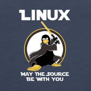 may_the_linux_source - Frauen Premium Tank Top