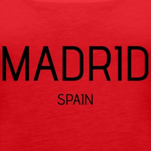 Madrid - Women's Premium Tank Top