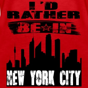 Gift Id rather be in New York City - Women's Premium Tank Top