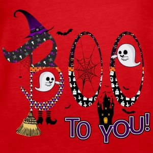 Halloween Boo To You - Premiumtanktopp dam