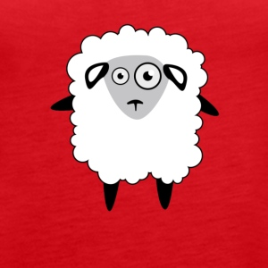 Bleet Sheep - Women's Premium Tank Top