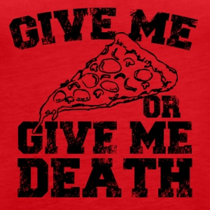 Give me pizza - Women's Premium Tank Top