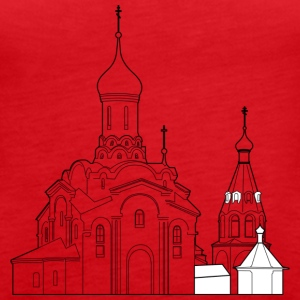 Russian church - Women's Premium Tank Top