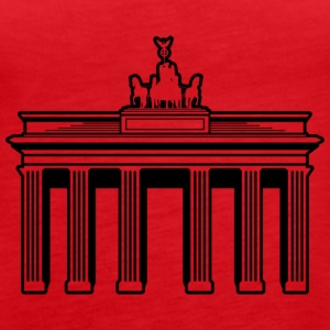 Brandenburger Tor - Frauen Premium Tank Top